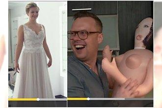 Ślub od pierwszego wejrzenia 2: Agnieszka wybiera suknię ślubną. A w sieci dyskusja: Nic z tego nie będzie