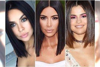 Blunt bob - ta fryzura jest hitem roku! Kardashian, Hadid, Siwiec już ją mają. Co powiecie na takie cięcie?