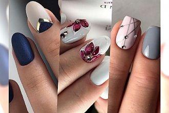 Nowości manicure - najpiękniejsze stylizacje paznokci z sieci! Wielka GALERIA