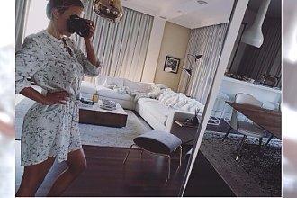 """Ewa Chodakowska pokazała swoje mieszkanie. To aż 360 metrów! A w nim """"włoska klasyka, minimalizm, proste formy"""""""