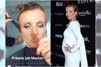 Ciężarna Katarzyna Zielińska zmieniła fryzurę! Koniec z włosami za ucho