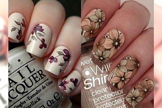 Jesienne inspiracje na kwiecisty manicure - piękne wzory, które Cię oczarują!