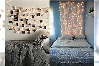 21 odjazdowych pomysłów na oświetlenie pokoju lampkami i świeczkami, które dodadzą nastroju i ciepła!