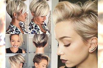 Krótkie blond fryzurki, które sprawią, że będziesz chciała obciąż włosy od razu - GALERIA inspiracji