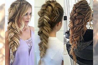 Czarujące fryzury z warkoczem - perełki na jesień 2017