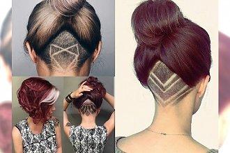 Drapieżne i stylowe fryzurki undercut - tatuaż, który możesz zakryć w każdej chwili!
