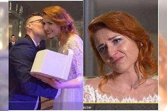 """Ślub od pierwszego wejrzenia: Paulina popłakała się. Fani podzieleni: """"Ale z niej wredna baba"""" VS """"on jest tragiczny"""""""