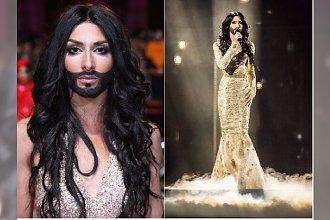 """Conchita Wurst """"została zabita""""! Zobaczcie, jak teraz wygląda słynna drag quenn"""