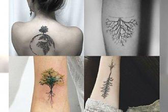Najpiękniejsze tatuaże z motywem korzeni. Pokochacie ten sentymentalny wzór!