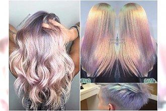 Syrenie włosy - ten efekt jest zniewalający! Wypróbuj absolutny hit w koloryzacji - opalizujący blond
