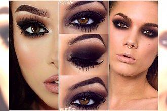 Czarny makijaż oczu - mroczny i stylowy. Wypróbujcie czarne smoky eyes i cut crease