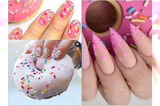 Manicure 2017: paznokcie jak... DONUTY? Galeria obowiązkowa dla miłośniczek słodkości!