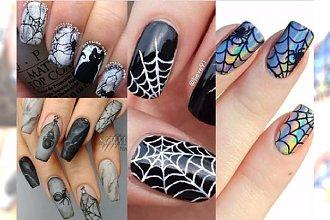 Manicure na Halloween 2017: paznokcie z pajęczyną. Hit na imprezę!