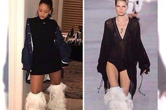 Yeti boots zapowiadają się na modowy hit zimy! Włochate kozaki lansuje już Rihanna