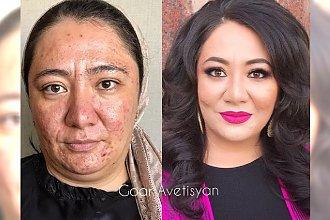 15 transformacji dokonanych za pomocą makijażu. Czy to na pewno są te same osoby?!