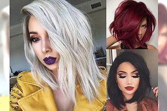Średnia długość włosów 2018 - TOP 21 super fryzurek, które genialnie podkreślą Waszą urodę!