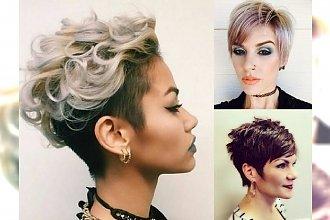 Krótkie cięcia włosów dla charyzmatycznych kobiet - przegląd fryzjerskich trendów!