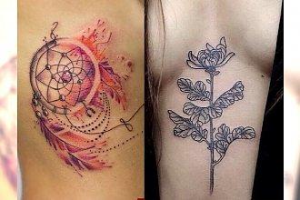 Tatuaże inne niż wszystkie - kobiece i modne motywy 2018!