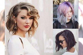 Propozycje na fryzurki dla półdługich włosów - supermodne cięcia na nowy sezon!