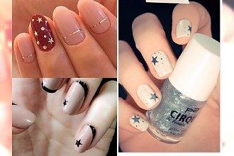 Manicure 2017: manicure z gwiazdką. Małe zdobienie, a cieszy