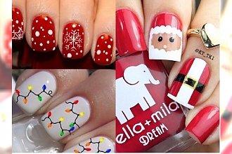 Manicure na Święta 2017: Zobacz nietypowe propozycje na świąteczny manicure