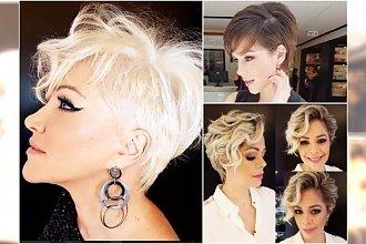Krótkie fryzury dla kobiet 40 lat i więcej. Eleganckie cięcia z grzywką, asymetryczne, bob