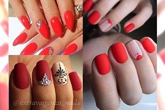 Najpiękniejsze stylizacje paznokci z czerwienią w roli głównej - prawdziwe perełki z sieci