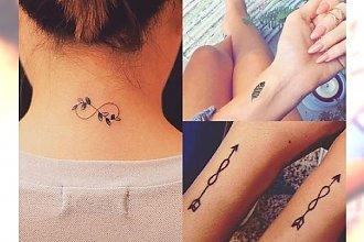 Małe tatuaże dla kobiet - top 16 propozycji z sieci