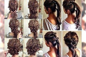 Odświeżona galeria fryzurek krok po kroku dla każdej długości włosów