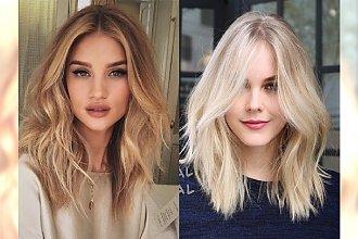 Absolutnie urocze półdługie cięcia dla blondynek - nasze typy na 2018 rok!