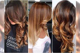 Słony karmel - jesienny hit w koloryzacji włosów!