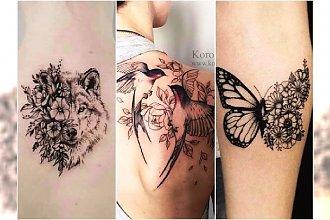 Tatuaże ze zwierzętami - 25 pięknych wzorów dla kobiet
