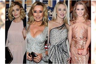 Gwiazdy na 25-leciu Polsatu: Młynarska odsłoniła biust, Szostak jak królowa, a SUKNIA SYKUT wygrywa imprezę!