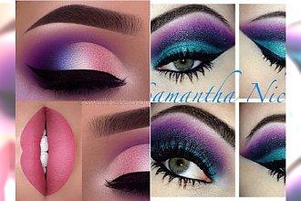 Kolorowy makijaż na karnawał 2018. Najpiękniejsze propozycje