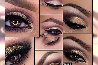 Wyrazisty makijaż sylwestrowy KROK PO KROKU. Zobacz, jak go zrobić!