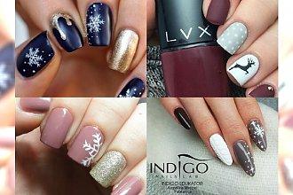 Pomysły na zimowy manicure, który ma w sobie to coś! Śliczne propozycje