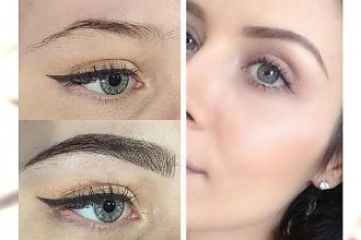 Wielkie metamorfozy brwi z makijażem permanentnym - zobaczcie efekty przed i po!