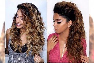 Nowy trend w stylizacji włosów: zig zag hair, czyli połamane loki. Zobaczcie, jak je zrobić