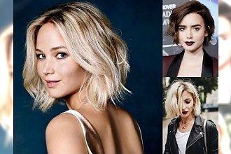 Short bob w najbardziej kobiecych odsłonach – przegląd fryzjerskich trendów 2018