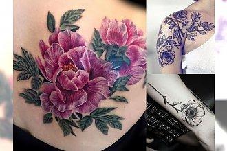 Tatuaże z motywem kwiatów – najpiękniejsze wzory, które skradną Twoje serce
