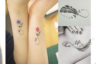 17 ślicznych inspiracji na tatuaż z symbolem nieskończoności