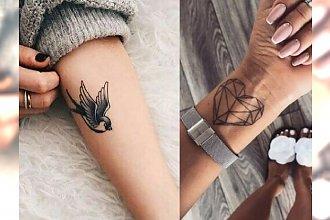 Unikalne tatuaże na rękę - kobiece, stylowe wzory 2018