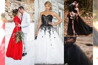 Suknia ślubna inna niż biała? Zobacz najpiękniejsze propozycje!