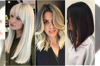Modne fryzury średnie - najpiękniejsze cięcia bob, z grzywką, cieniowane