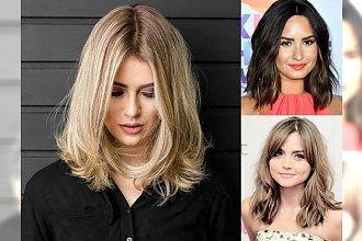 Modne fryzury dla półdługich włosów, które odejmą Ci lat - galeria