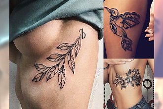 Piękne tatuaże dla kobiet - 20 najmodniejszych, zaskakujących wzorów