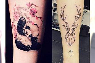Modne tatuaże ze zwierzętami – 18 pomysłowych wzorów