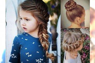 Fryzury dla dziewczynek - 16 pomysłów na śliczne uczesania z warkoczem