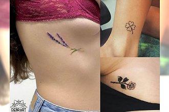 Małe tatuaże dla kobiet – ponad 20 najświeższych propozycji z sieci