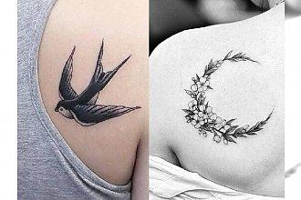 Tatuaż na łopatce - 22 modne pomysły dla dziewczyn